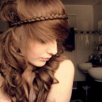 Cute Braided Hairstyle for Summer 2014