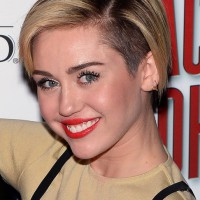 Miley Cyrus Short Hairstyles 2014