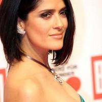 Salma Hayek Short Bob Hairstyles