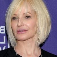 Ellen Barkin Short Graduated Bob Haircut - A-line Bob Cut for Women