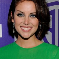 Jessica Stroup Short Layered Bob Hairstyle for Women