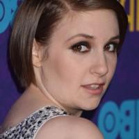 Lena Dunham Chic Short Straight Bob Haircut