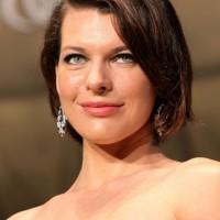 Milla Jovovich Short Hairstyle