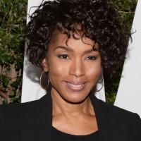 Angela Bassett Curly Short Hairstyles for Black Women
