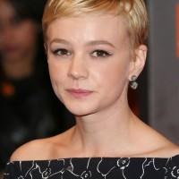 Carey Mulligan Cute Short Blonde Boycut Hairstyle for Women