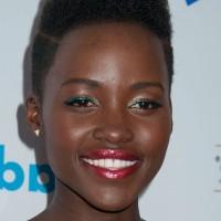 Celebrity Lupita Nyong'o Flat-top Haircut for Black Women