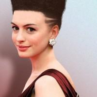 Cool Short Hightop Fade Haircut for Women