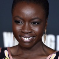 Danai Gurira Close Cropped Curly Hairstyle for Black Women