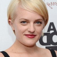 Side Parted Hairstyle for Straight, Fine Hair - Elisabeth Moss Hairstyles