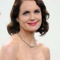Elizabeth McGovern Short Finger Wave Haircut for Women Over 50