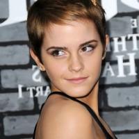 Emma Watson Cute Short Straight Boycut