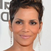 Halle Berry Spiked Haircut for Short Hair