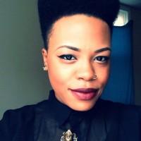 High Top Fade Haircut for Women