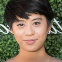 Kim Nguyen Cute Short EMO Hairstyle