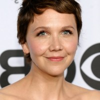 Maggie Gyllenhaal Short Spiked Haircut for Summer