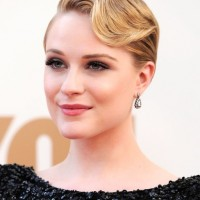 Most Popular Short Finger Wave Hairstyle from Evan Rachel Wood