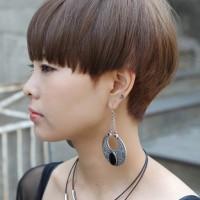 Short Bowl Cut for Girls - Korean Hairstyles for Girls