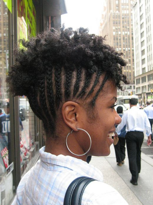 Short Cornrows Hairstyle for Natural Hair | Styles Weekly