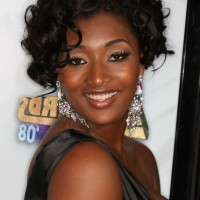 Toccara Jones Short Black Curly Bob Hairstyle for Black Women