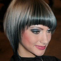 Trendy Mushroom Hairstyle - The Bowl Cut for Women