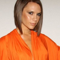 Victoria Beckham Short Inverted Bob Haircut for Women