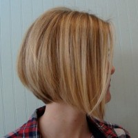Side View of Graduated Bob Cut - Cute Bob Hairstyles for Girls