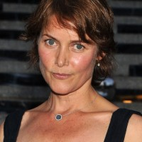 Carey Lowell Short Wavy Haircut for Women Over 50