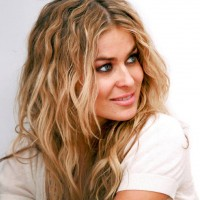 Carmen Electra Curly Hairstyles