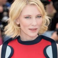 Cate Blanchett Short Blonde Wavy Hairstyle