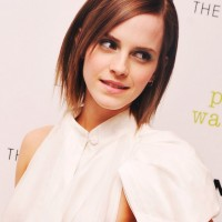 Emma Watson Razor Cut