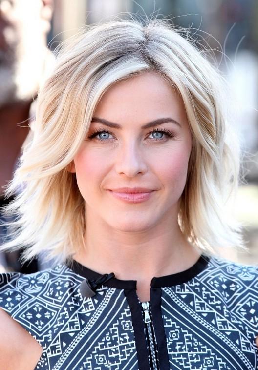 Julianne Hough Popular Layered Razor Cut for Thick Hair