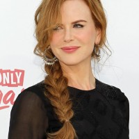 Nicole Kidman Fishtail Plait