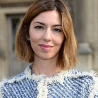 Sofia Coppola Cute Short Side Parted Ombre Bob Hairstyle for Winter