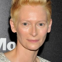 Tilda Swinton Short Fauxhawk Haircut for Women Over 50