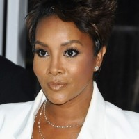 Vivica A. Fox Short Spiked Razor Cut with Layers