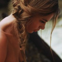 Fancy Hairstyles: Messy Fishtail Side Braid for Summer