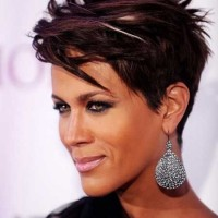 Chic Short Straight Hairstyle - Short Hairstyles for Black Women 2015