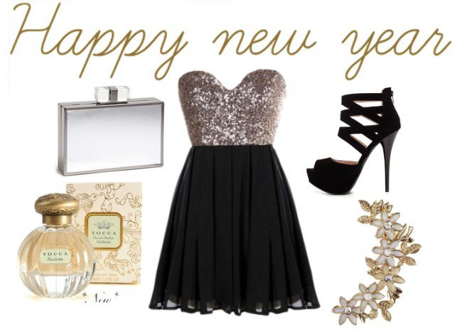 Chic New Year Outfit Idea