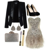 Gorgeous Party Outfit Idea for 2015