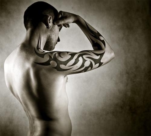 Tirbe Arm Tattoo for Men