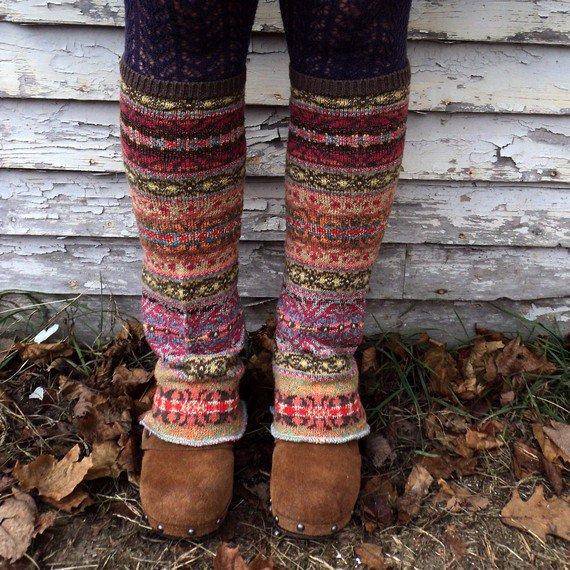 Chic Knitted Leg Warmer Tutorial