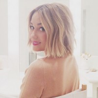 Lauren Conrad Blonde Bob Hairstyle
