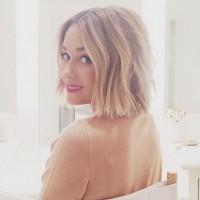 Lauren Conrad Blonde Bob Hairstyle