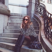 Over-Knee Boots Outfit Idea