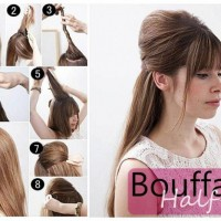 Pretty Half-up Half Down Hairstyel Tutorial