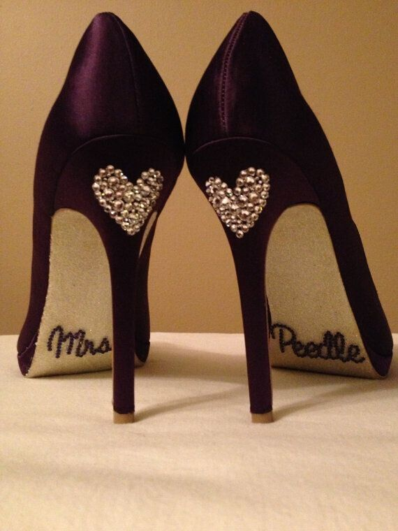 Personalized Wedding Shoes
