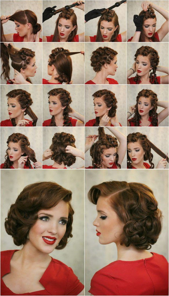 Elegant Side-parted Hairstyle Tutorial
