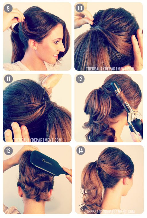 Pretty Retro Hairstyle Tutorial for 2015