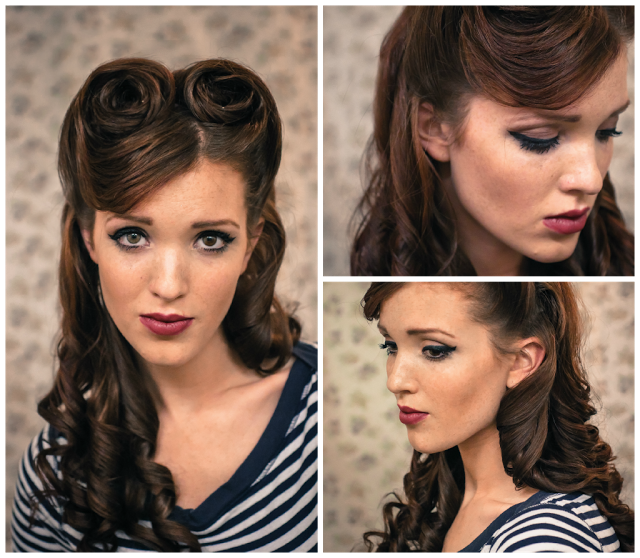 Victory Rolls Hairstyle Tutorial