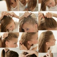 Cute Braided Hairstyle Tutorial